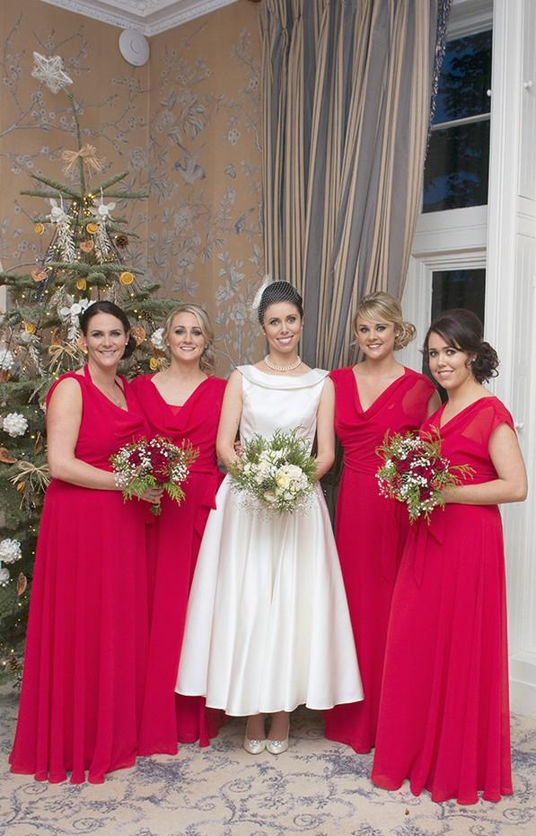 33_Christmas_Bidesmaids_Full_Length_Red_Dresses