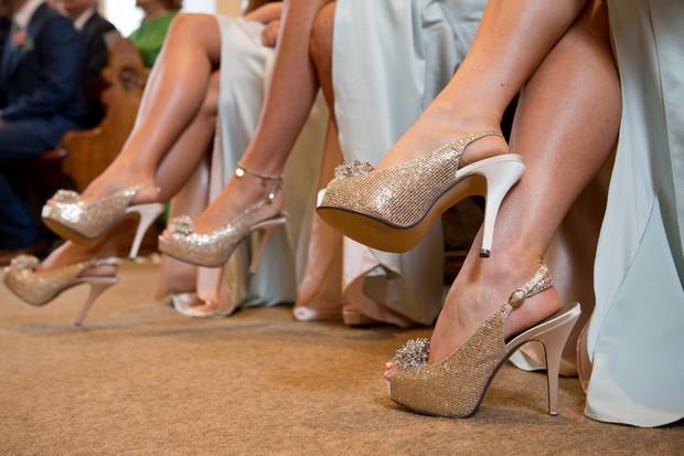 6-gold-glitter-peep-toe-bridesmaids-shoes-stilettos