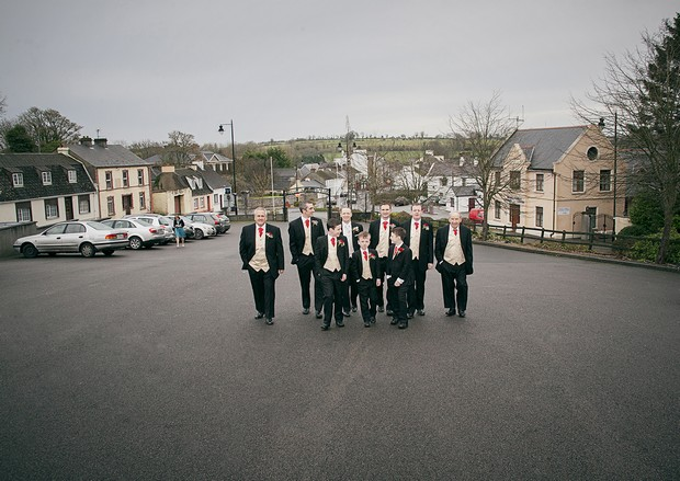 8_Groomsmen_Walking_to_Church_Ireland