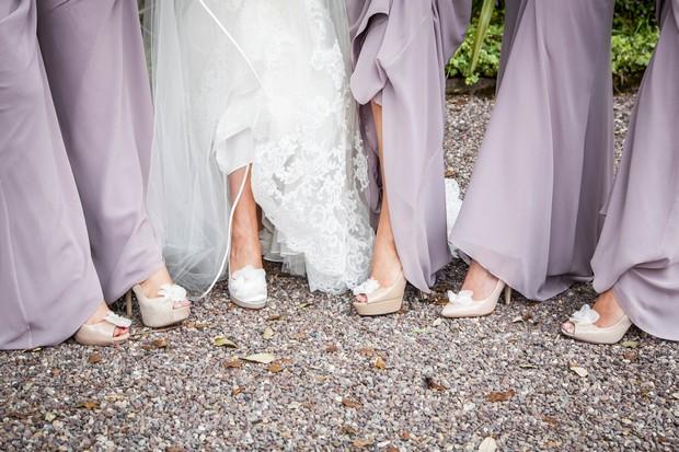9_Lavender_Lace_Bridesmaids_Dresses_Neutral_Shoes (1)