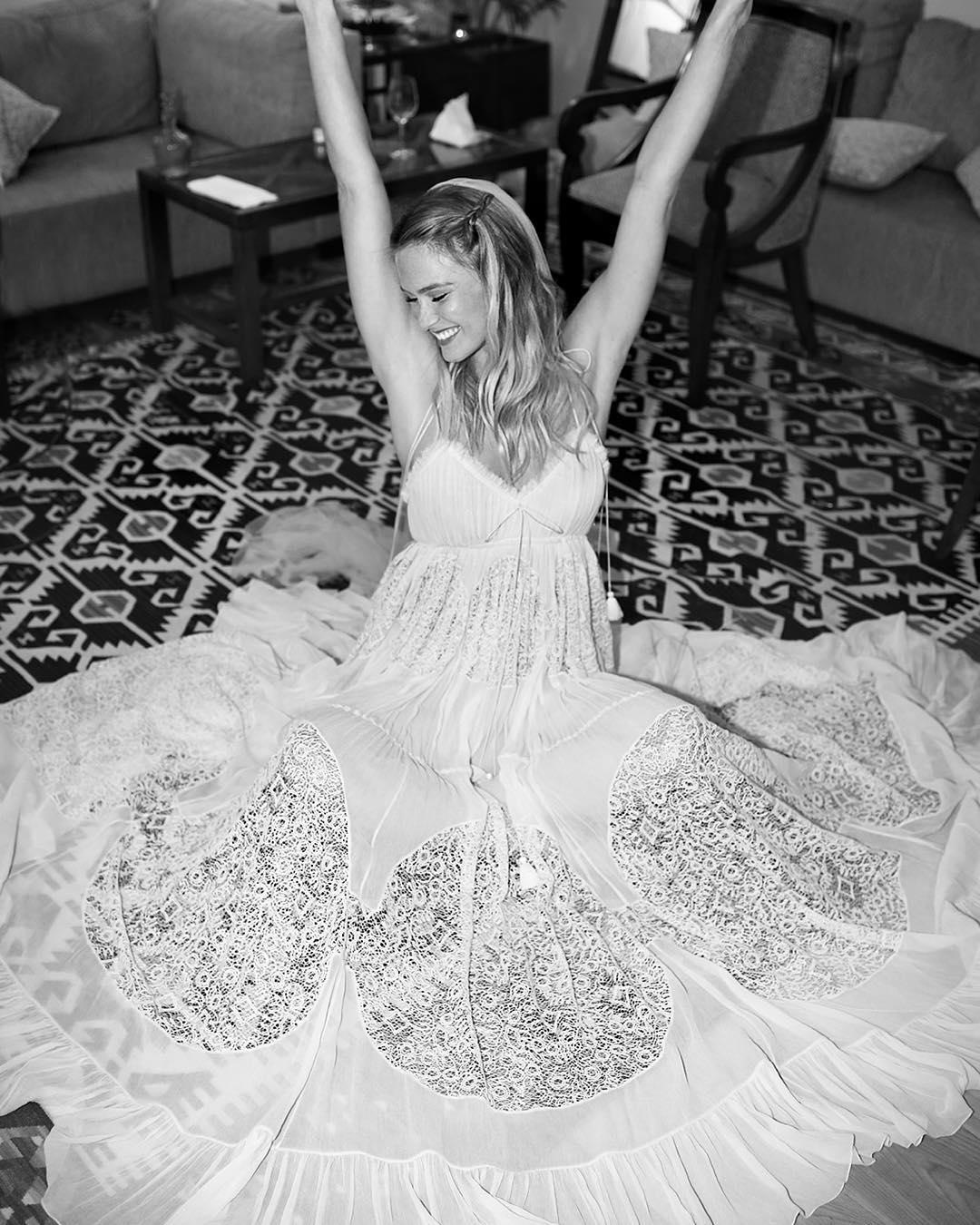 Best celebrity wedding dresses of 2015 weddingsonline barrefaeliweddingdresscelebrityboho bar refaeli in chloe ombrellifo Image collections
