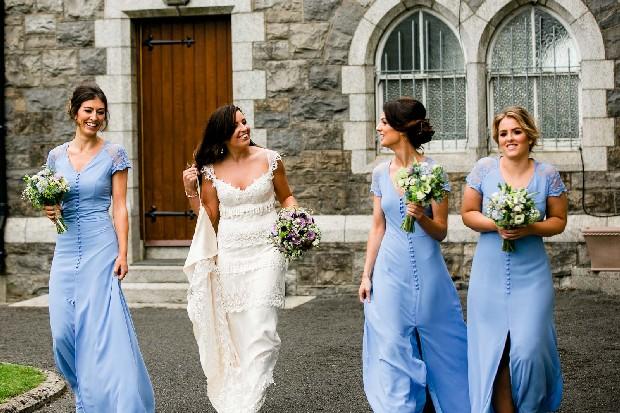 Bridesmaid Trend 3 Beautiful Blues Bridesmaids Sky Blue Dresses Full Length