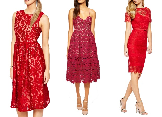 Gorgeous Red Engagement Party Dresses