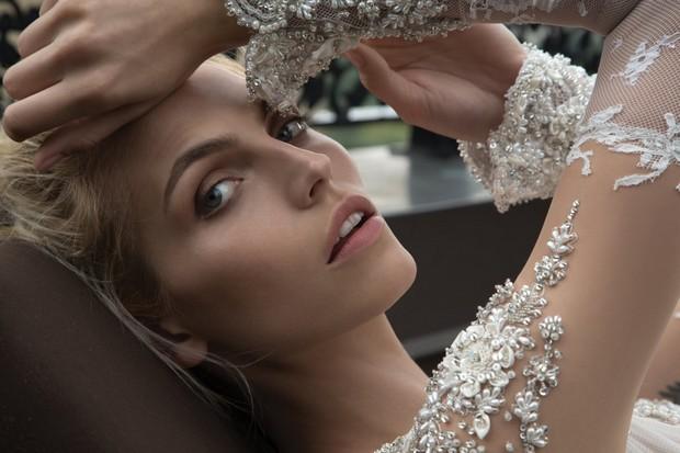 Heavy_Embellished_Sleeves_Pearl_Sheer_Wedding_Dress_Inbal_Dror