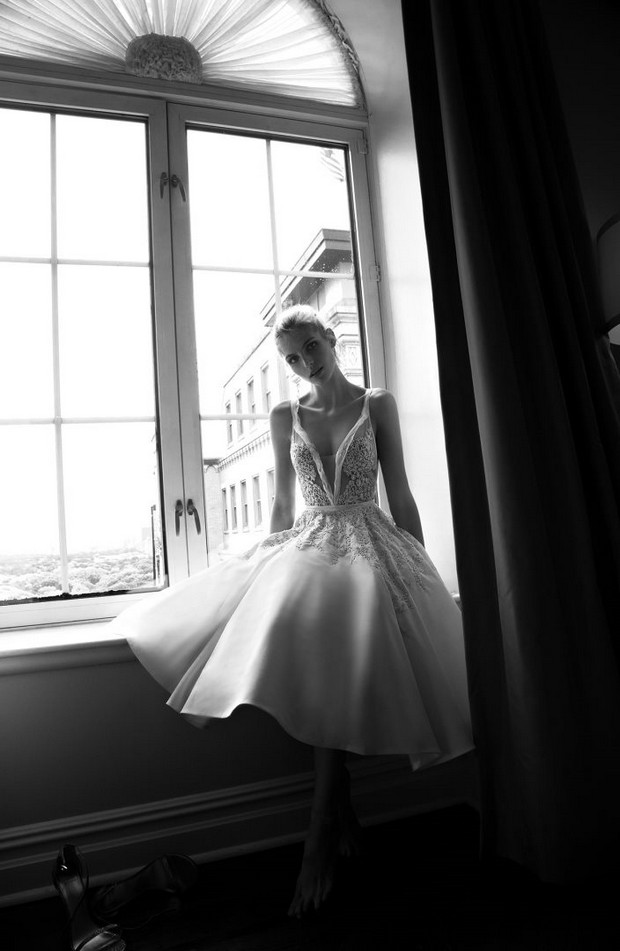 Modern_Tea_Length_Wedding_Dress_Inbal_Dror_2016