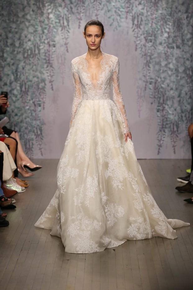 Vestidos de novia otoño 2016 de Monique Lhuillier