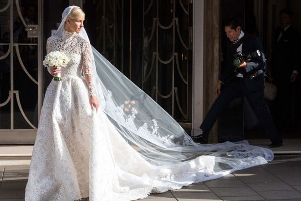 Best Celebrity Wedding Dresses of 2015 | weddingsonline