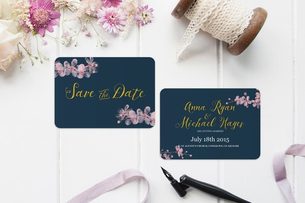 Pink_navy_gold_floral_save_the_date_wedding_card_kerry