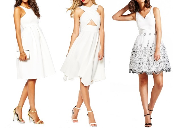 Pretty_White_Engagement_Party_Dresses