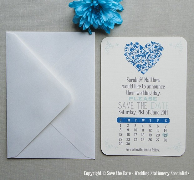 Save_the_Date_Wedding_Card_Blue_Heart_Ireland
