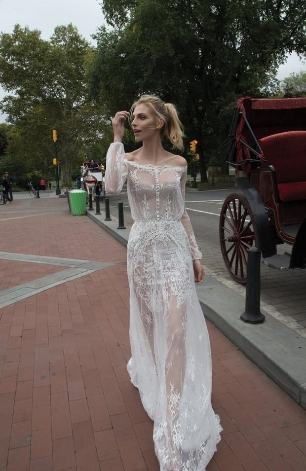Sheer_Lace_Overlay_Wedding_Dress_Inbal_Dror_2016