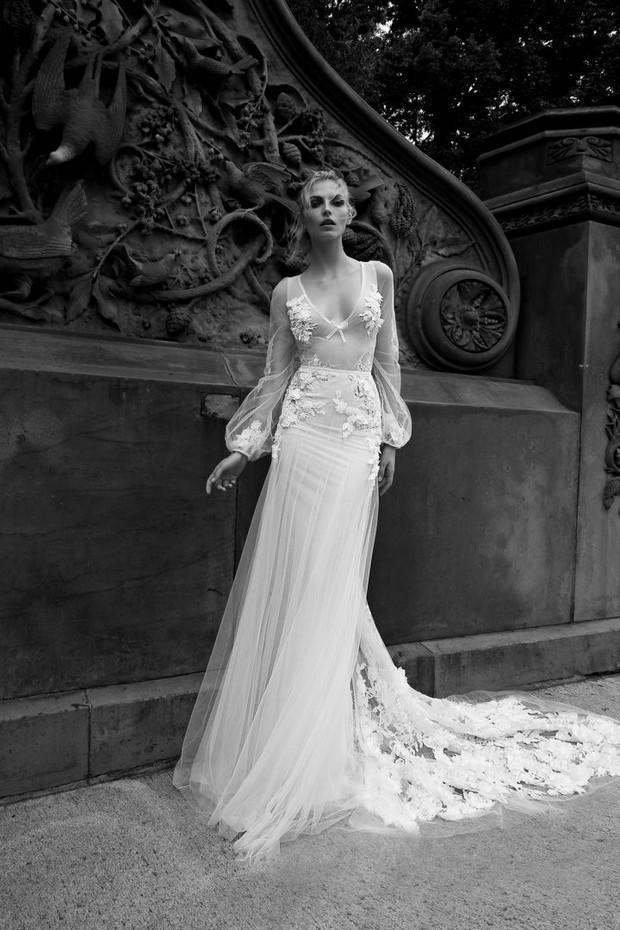 Sheer_Long_Sleeve_Wedding_Dress_Inbal_Dror_2016