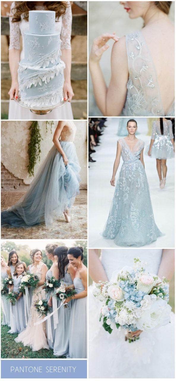 Pantone Wedding Colours 2016 - Serenity \u0026 Rose Quartz   weddingsonline