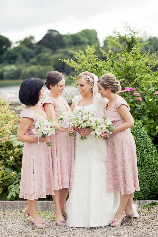 Tea_Length_Bridesmaids_Dresses_Lace_Blush_Pink_HOF