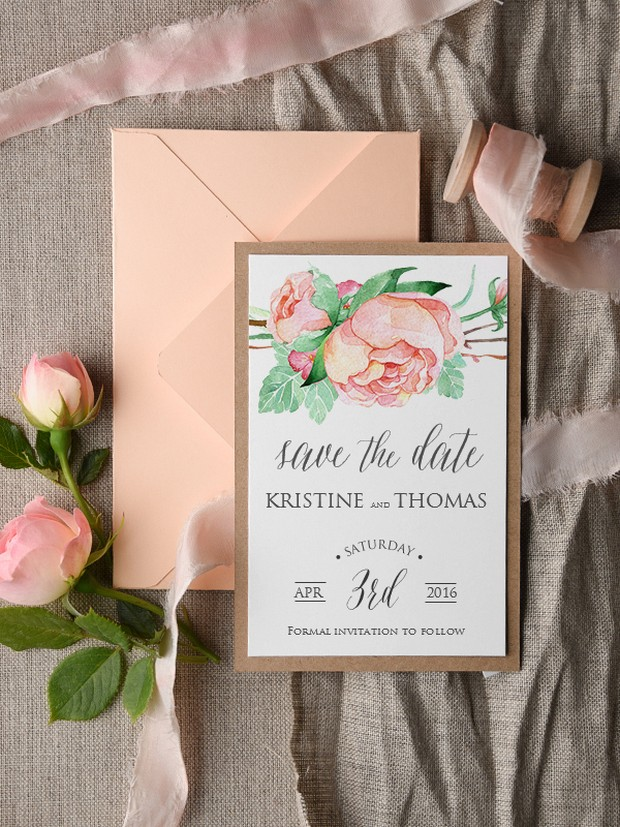 How soon to send save the date in Brisbane