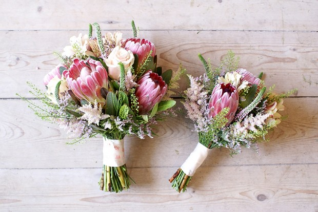winter-wedding-bouquet-bloomsday-king-protea