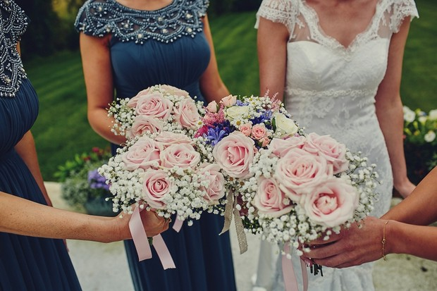 18-Soft-Pink-Rose-Wedding-Bouquets-Babys-Breath