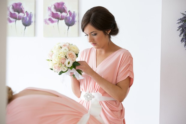 19_elegant_peach_bridesmaid_jersey_dress