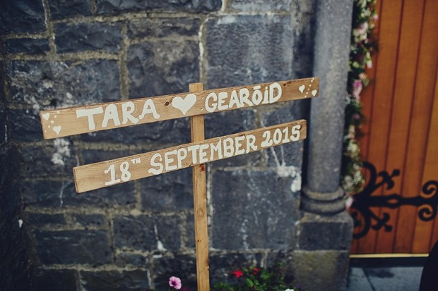 21-Rustic-Wedding-Sign-Date-Church