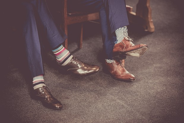 25_groomsmen_brown_leather_shoes_striped_socks