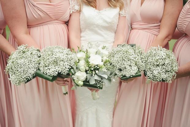 27_Romantic_bridesmaids_dresses_bouquets_babys_breath