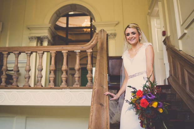 29_Bridal_portrait_stairs_Michelle_Prunty_Photography