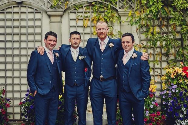 46-groomsmen-three-piece-navy-blue-suits