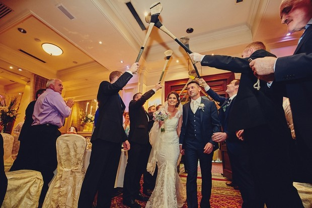 51-Bride-groom-entrance-sloitar-gaa-theme-ireland
