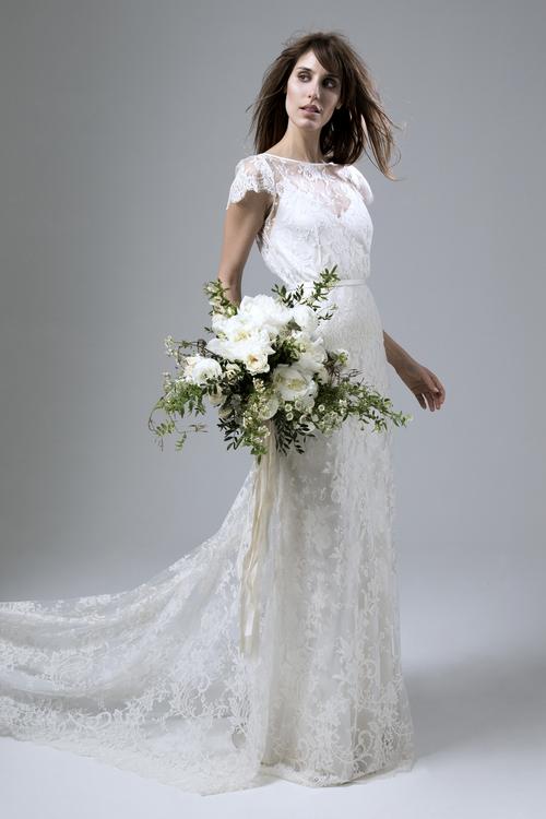 2d13b83dc4f4 Halfpenny_London_2016_Irish_Rose_Full_French_Lace_Wedding_Dress. Iris Rose  full French lace dress. Halfpenny_London_2016_Isobel_Lizzy_Separates
