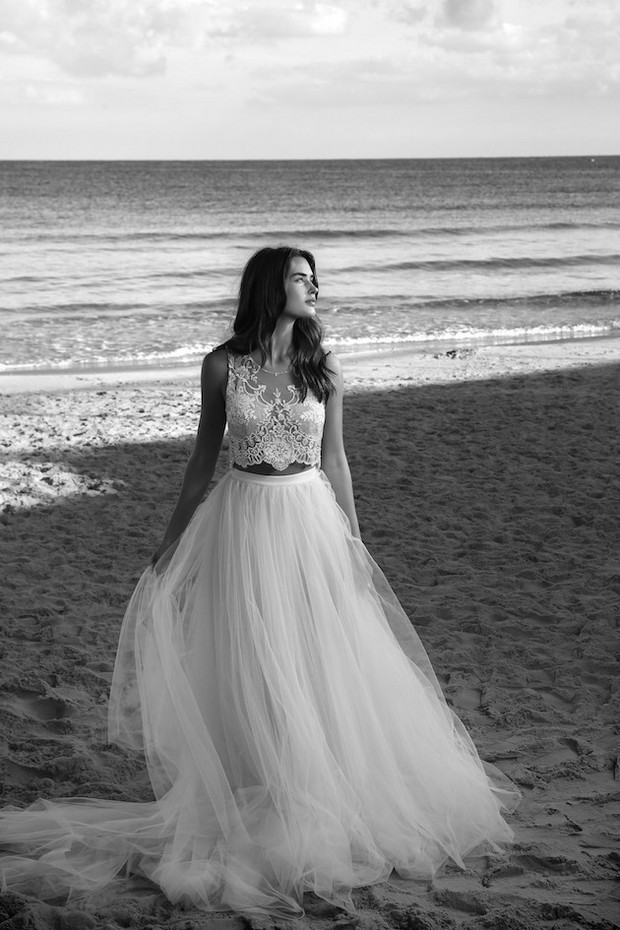 Lihi hod wedding dresses 2016 white bohemian collection for Lihi hod wedding dress