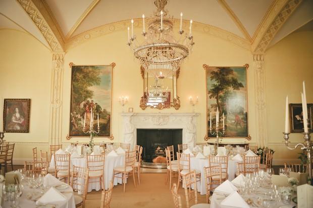 Luttrellstown Castle Wedding Ireland Reception Room Ballroom