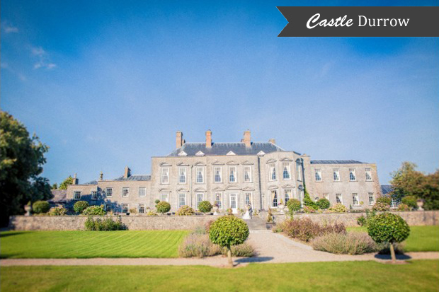 Real Weddings Castle Durrow: Ireland's Most Luxurious Castle Wedding Venues