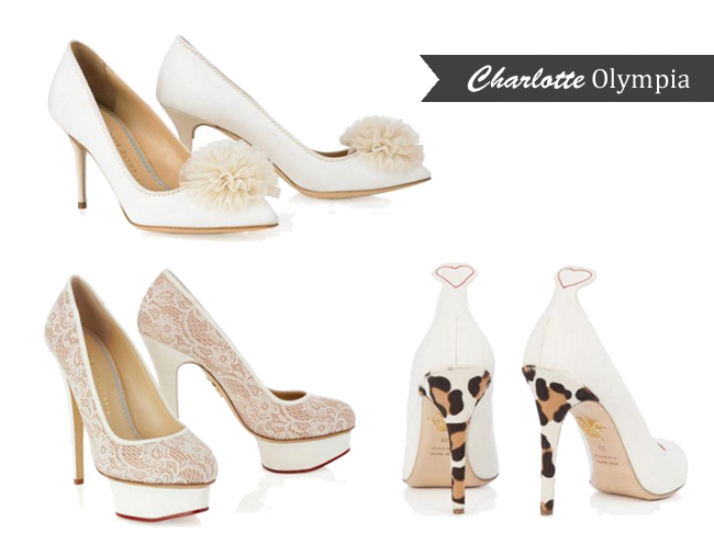 charlotte olympia wedding shoes designer wedding shoes