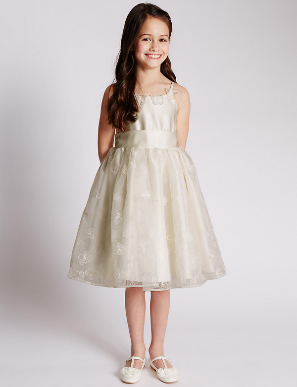 ivory-flower-girl-dresses-marks&spencer