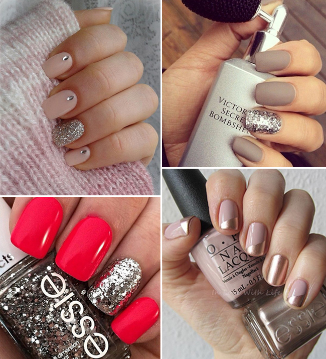 Nails Just Look Better With A Diamond Ring On Your Finger: 16 Gorgeous Engagement Manicure Ideas