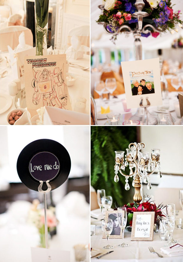 Table Names Wedding 40 creative wedding table name ideas | weddingsonline