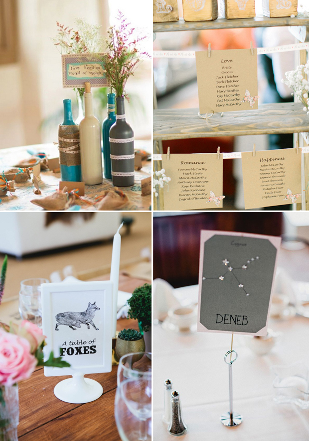 wedding ideas for table names creative wedding table name ideas 27729