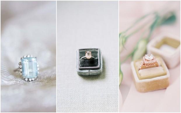 tendencias-de-bodas-2016-anillos-de-compromiso-de-colores-vintage