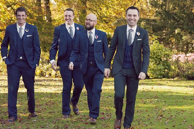 13-groomsmen-navy-three-piece-wedding-suits