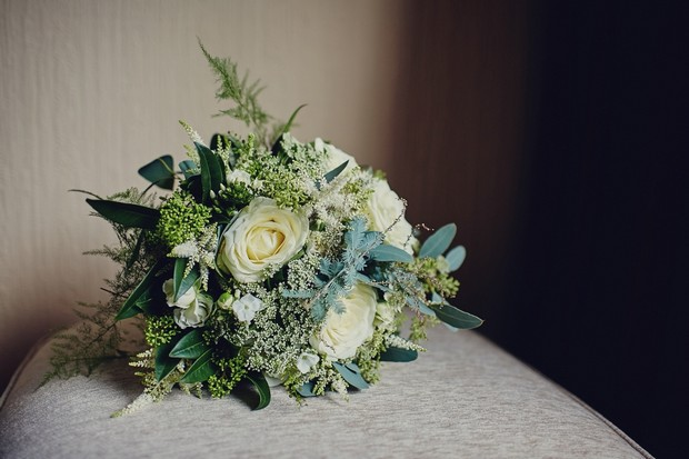 14-Vintage-style-green-lavender-wedding-bouquet