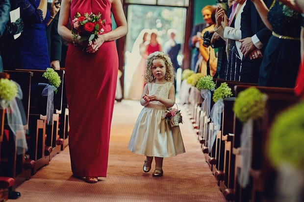 25-cute-flower-girl-walking-up-aisle-wedding
