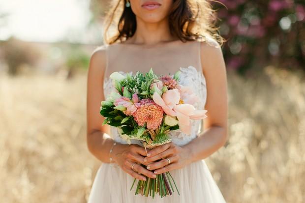 35-Dream-Destination-Wedding-Algarve-Portugal-Coral-Wedding-Bouquet-weddingsonline