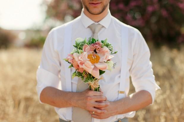 36-Coral-Blush-Wedding-Bouquet-Groom-Dream-Destination-Wedding-Algarve-Portugal-weddingsonline