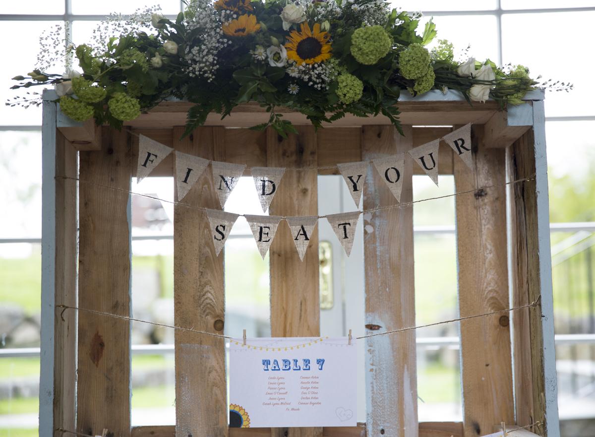 39-Rustic-Crate-Wedding-Table-Plan-Bunting-Wine-Corks (2)