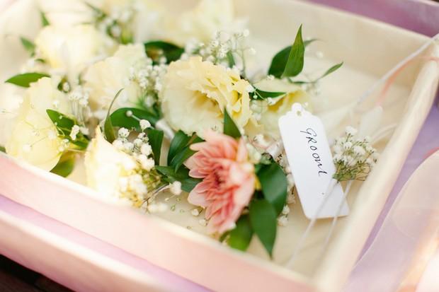 7-lemon-coral-wedding-boutonnieres-Matt+Lena_Photography