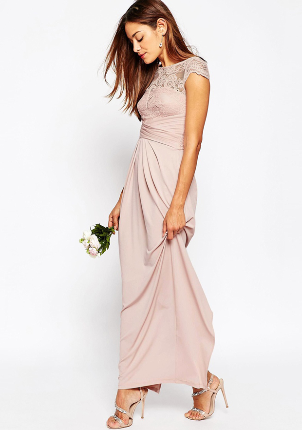 17 Stunning Blush Bridesmaid Dresses Weddingsonline