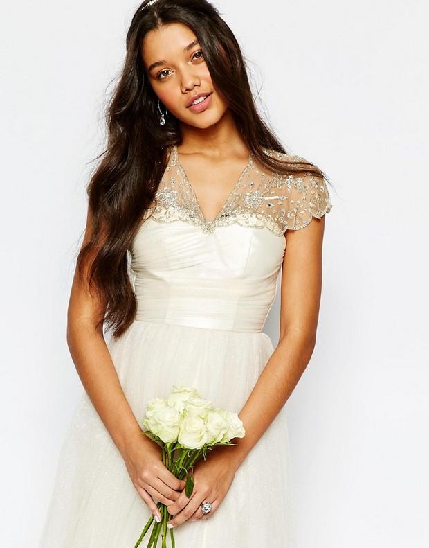 Hand-beaded-short-bridal-cape-asos