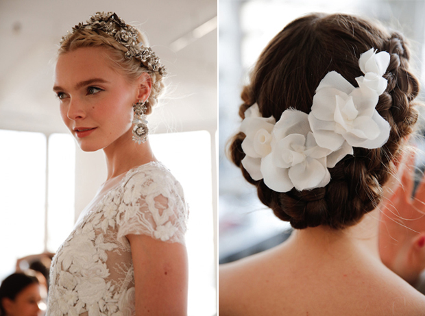 10 Top Wedding Hair Trends from Bridal Fashion Week 2016 ...