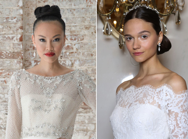 10 Top Wedding Hair Trends From Bridal Fashion Week 2016