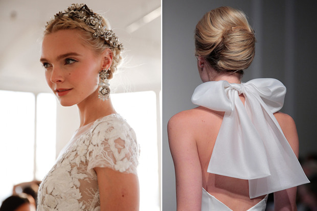 Average Of Bridal Hair And Makeup 2017 : Wedding Hairstyles - Bridal updos weddingsonline